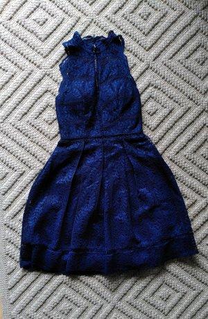 Laona Cocktailkleid aus Spitze Gr. XS/34 königsblau