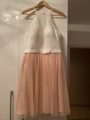 Laona Kleid ungetragen Rose Blush weiß Tüll