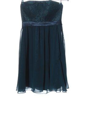Laona Abito senza spalle blu elegante