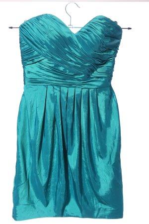 Laona schulterfreies Kleid blau Elegant