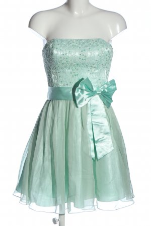 Laona Off-The-Shoulder Dress turquoise elegant