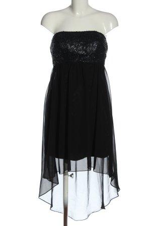 Laona Off-The-Shoulder Dress black glittery