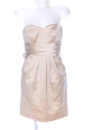 Laona schulterfreies Kleid creme Elegant