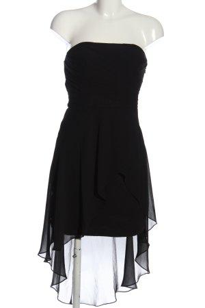 Laona Jurk met langere achterkant zwart elegant