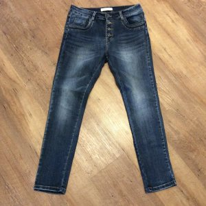 Slim jeans donkerblauw