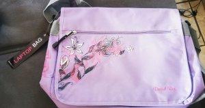 Laptop Notebook Tasche Notebooktasche Laptoptasche lila flieder neu mit Etikett