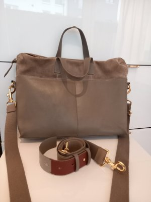Kiomi Laptop bag grey brown
