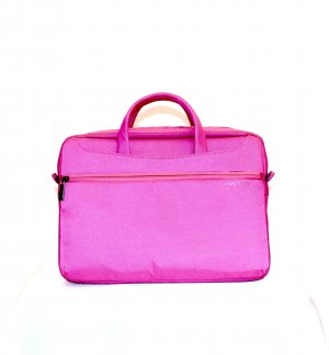 Laptop bag pink