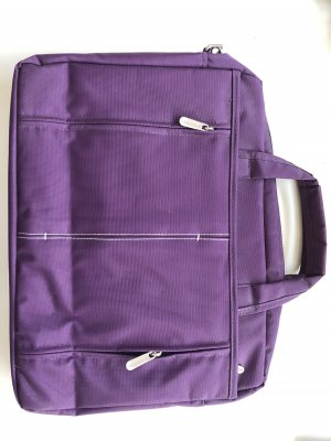 Laptop bag blue violet