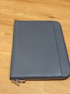Laptoptasche Schreibmappe grau Bally