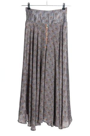 Lara Ethnics Culotte Skirt allover print casual look