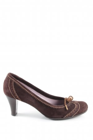 Lara Manni Loafers brown-natural white casual look