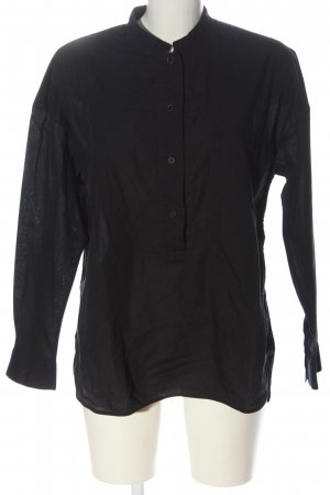 Lareida Hemd-Bluse schwarz Casual-Look