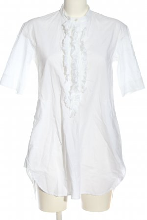 Lareida Long-Bluse weiß Casual-Look