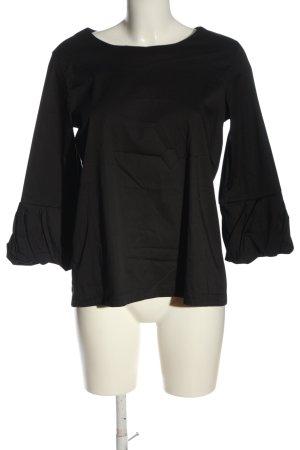 Lareida Schlupf-Bluse schwarz Casual-Look