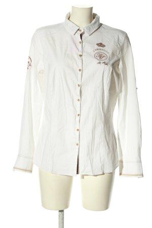 Largentina Blusa-camisa blanco estilo «business»