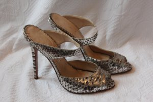 Lario Pyton Pumps Silber Courtney Crawford