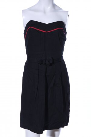 Lark & Wolff Vestido bandeau negro look casual