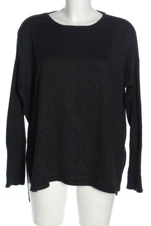 Larry Levine Oversized Shirt black casual look