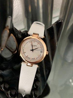 Lars Larsen Design Denmark Zegarek ze skórzanym paskiem Skóra