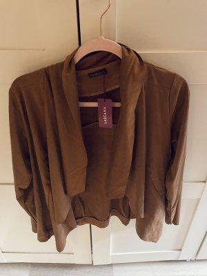 Lascana Faux Leather Jacket brown