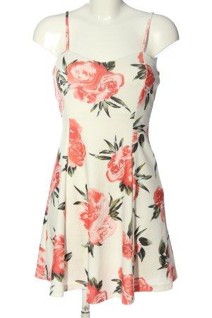 Lascana Sukienka o kroju litery A Na całej powierzchni W stylu casual