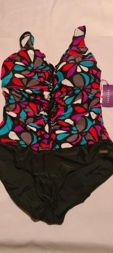 Lascana Badeanzug mit trendigem Alloverprint mehrfarbig GR.42B  NEU VON SHEEGO