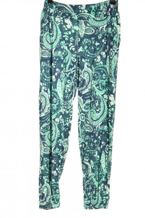 Lascana Baggy Pants blue-turquoise abstract pattern casual look
