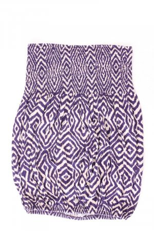 Lascana Top bandeau lila-malva-púrpura-violeta oscuro Viscosa