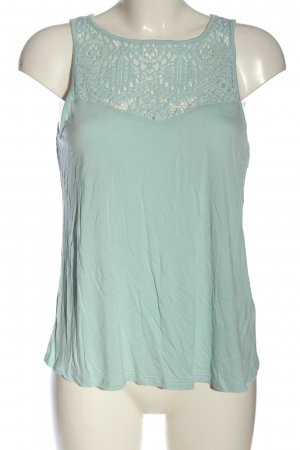 Lascana Lace Top turquoise casual look