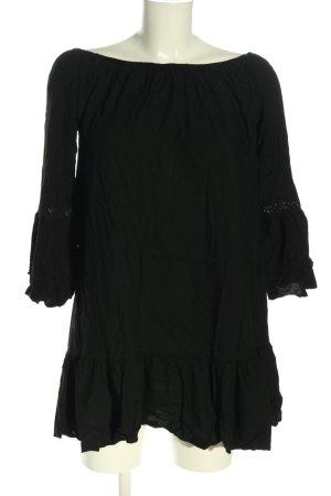 Lascana Blusenkleid schwarz Casual-Look