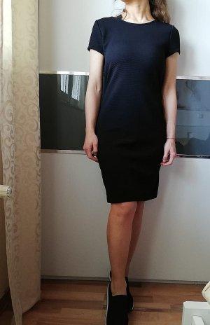 Lascana Vestido ceñido de tubo negro