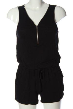 Lascana Kurzer Jumpsuit negro look casual
