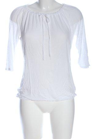 Lascana Langarm-Bluse weiß Casual-Look