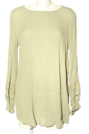 Lascana Long-Bluse grün Casual-Look