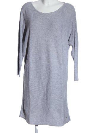 Lascana Robe pull gris clair moucheté style décontracté