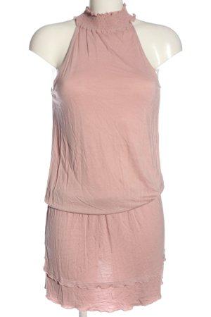 Lascana Mini vestido rosa look casual