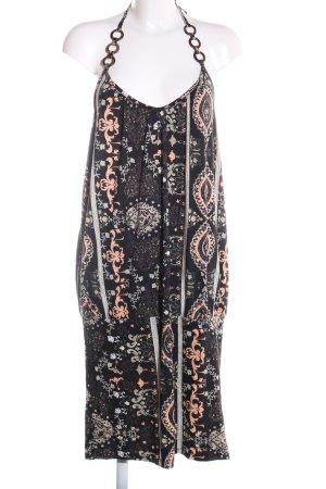 Lascana Vestido de cuello Halter estampado con diseño abstracto look casual