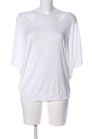 Lascana Top extra-large blanc style décontracté