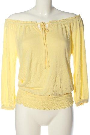 Lascana Schlupf-Bluse blassgelb Elegant