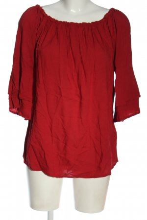 Lascana Schlupf-Bluse rot Casual-Look