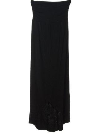 Lascana Robe épaules nues noir style décontracté