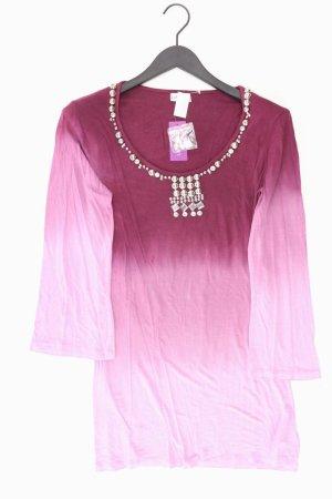 Lascana Shirt Größe 36/38 neu mit Etikett 3/4 Ärmel mit Nieten lila aus Viskose