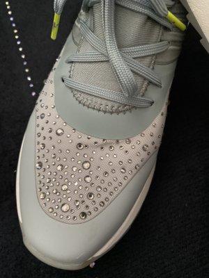 Lascana Sneaker, Gr 40, Glitzer, helles mint
