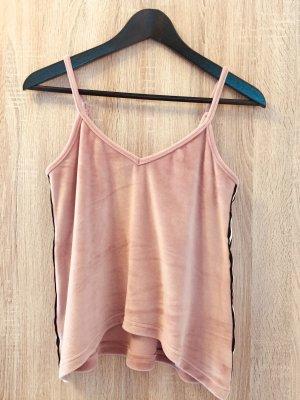Lascana Haut à fines bretelles rose-rose clair polyester
