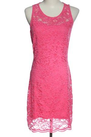 Lascana Robe en dentelle rose élégant