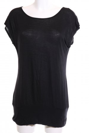 Lascana T-Shirt schwarz Casual-Look