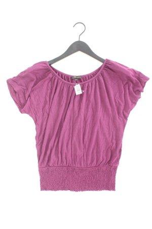 Lascana T-Shirt Größe 36 Kurzarm lila aus Viskose