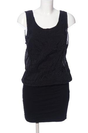 Lascana Blusa de túnica negro look casual
