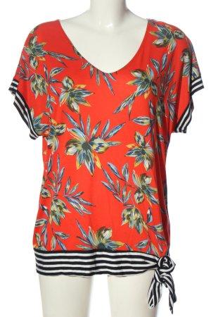 Lascana V-Ausschnitt-Shirt Allover-Druck Casual-Look
